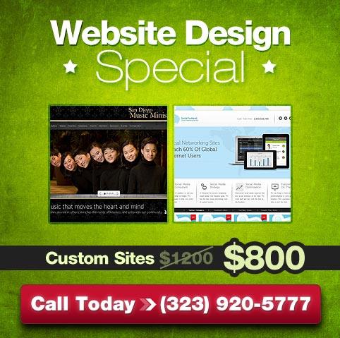 Web Design Special